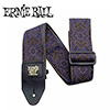 Ernieball CLASSIC JACQUARD STRAP / IMPERIAL PAISLEY PURPLE AND BLK (PO4164)