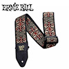 Ernieball CLASSIC JACQUARD STRAP / PERSIAN RED AND GOLD (PO4167)