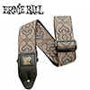 Ernieball CLASSIC JACQUARD STRAP / IMPERIAL PAISLEY GOLD AND BLK (PO4163)
