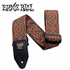 Ernieball CLASSIC JACQUARD STRAP / IMPERIAL PAISLEY RED (PO4162)