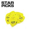 EVERLY STAR PICKS BLISTER PACKS / 0.73mm YELLOW 12개 팩 (30023)