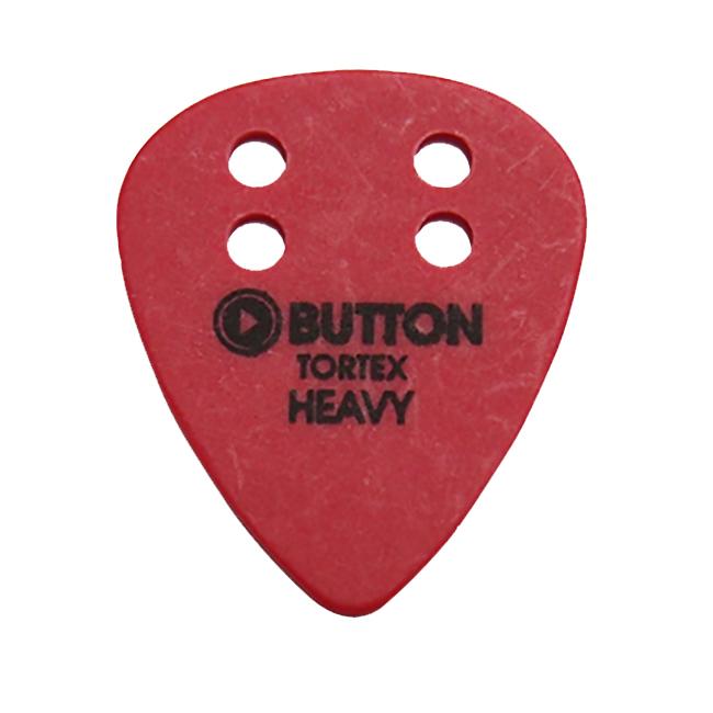 Button Tortex Standard Red Heavy 피크