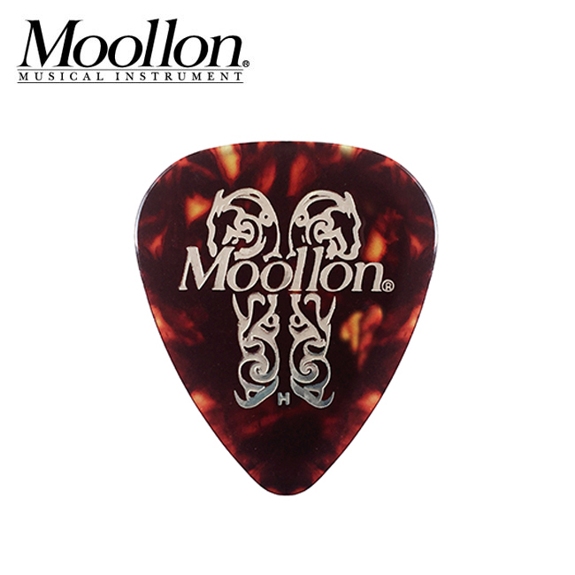 Moollon Classic Celluloid Pick - Tortois / 물론 클래식 피크