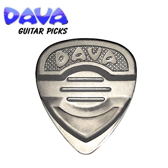 DAVA Pick - Master Control Nickel Silver (멀티게이지 피크)