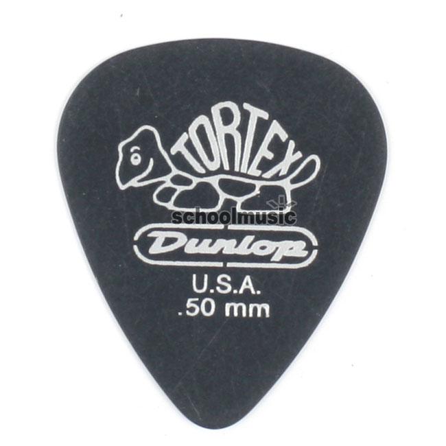 Dunlop Tortex Black STD 0.50mm(488R.50)