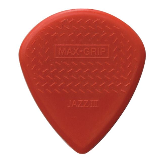 Dunlop Max Grip Jazz3 피크 (471R3N) 1개