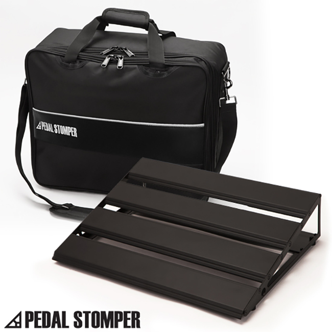 Pedal Stomper - Master 46 Black with Deluxe Case 페달보드 + 케이스