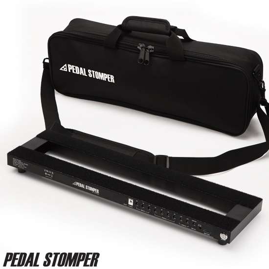 PedalStomper - PS12800 Powerboard with Simple Case / 충전식 파워 내장 페달보드