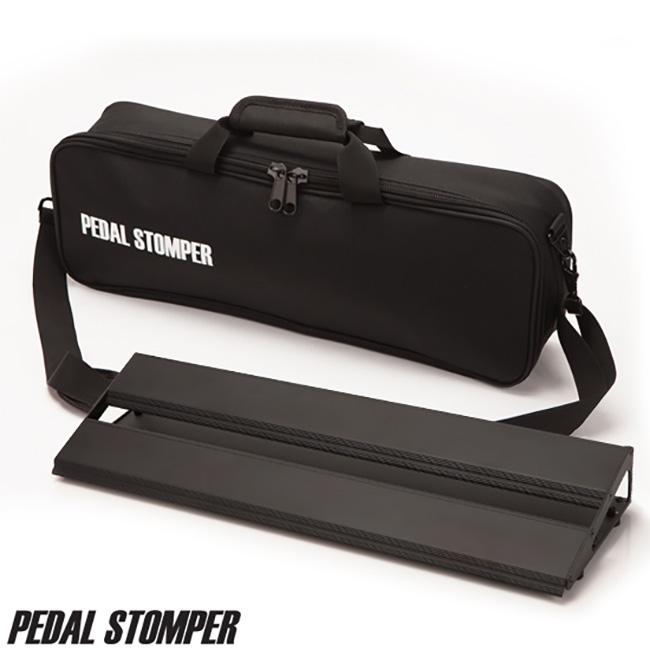 Pedal Stomper - Compact 50 Black Board & Case / 페달스톰퍼 페달보드