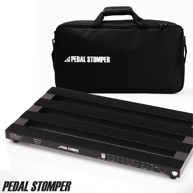 PedalStomper - PS25600 Powerboard with Simple Case / 충전식 파워 내장 페달보드