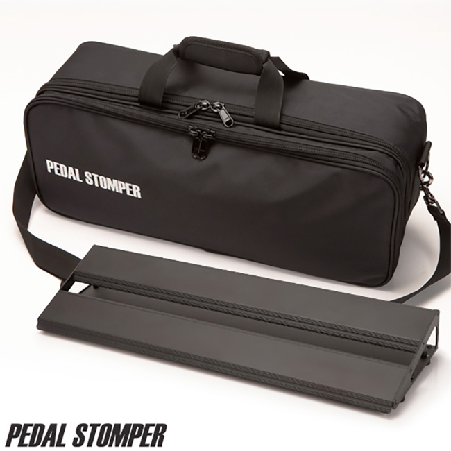 Pedal Stomper - Compact 50 Black Board & Deluxe Case / 페달스톰퍼 페달보드