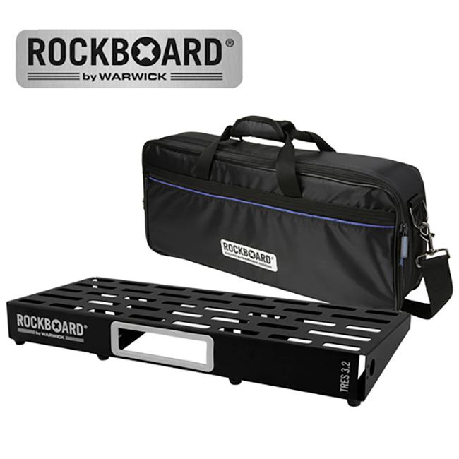 [2020 New] RockBoard TRES 3.2 with Pro GigBag (페달보드+케이스)