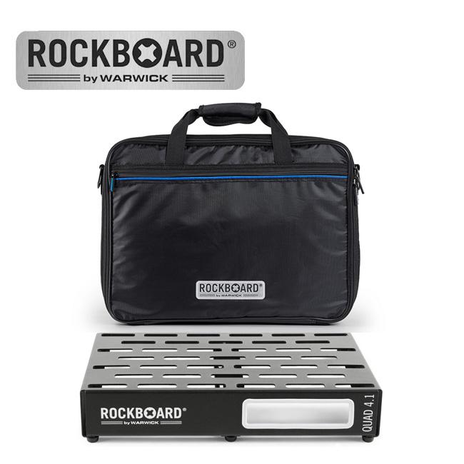 RockBoard QUAD 4.1 with Pro Gig Bag 페달보드 + 케이스
