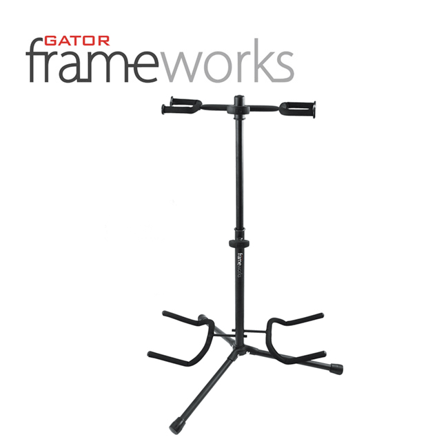 Gator Frameworks - Double Guitar Stand / 게이터 더블 2단 기타스탠드 (GFW-GTR-2000)