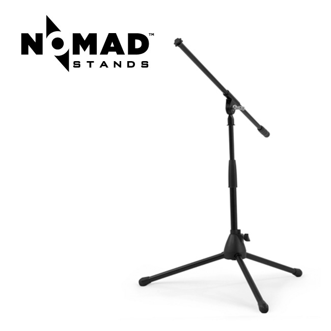Nomad Stand - Mid Height Tripod Base Boom Stand / 삼발이 마이크 스탠드 - 중간높이 (NMS-6607)