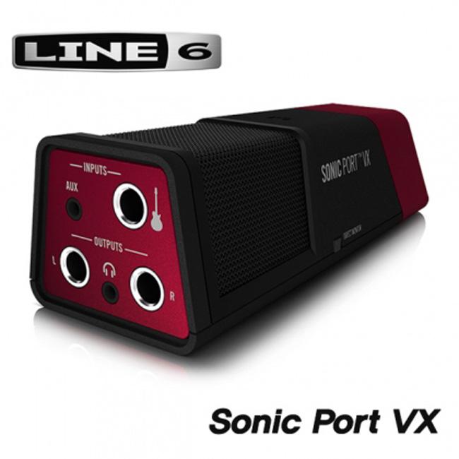 Line6 멀티인터페이스 Sonic Port VX