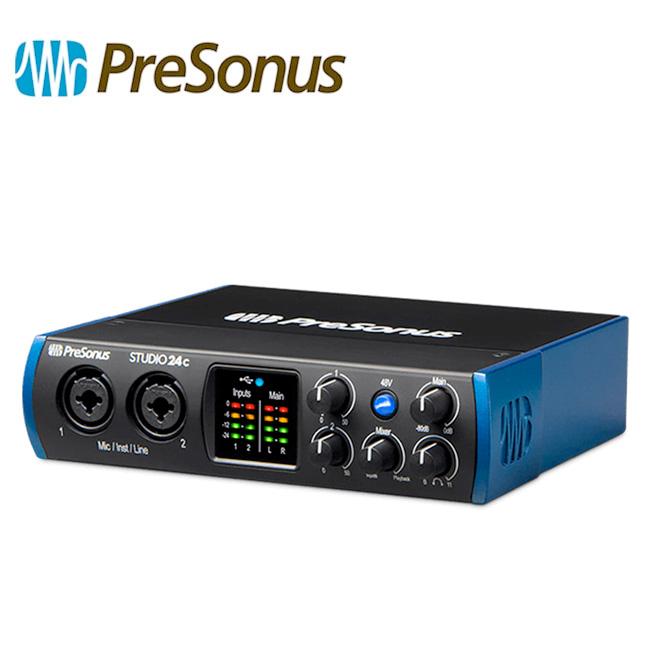 Presonus Studio 24C / USB-C 오디오 인터페이스