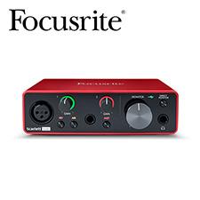 [아카데미 페스티벌 할인전]<br>Focusrite - Scarlett Solo 3rd / 스칼렛 솔로 3세대 오디오 인터페이스