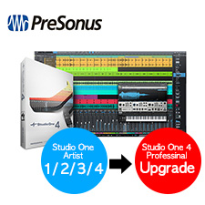 <font color=#262626>PreSonus Studio One 4 Professional Upgrade Pack (from All Artist Version) / 레코딩무료강좌</font>