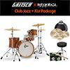 Gretsch Catalina Club Jazz Kit + Istanbul Agop Xist / 드럼+심벌세트 패키지 (BS)