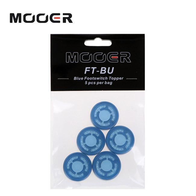 MooerAudio Footswitch Topper Blue / 5pcs (FT-BU)