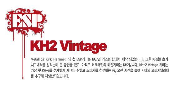 ESP KH-2 VINTAGE Kirk Hammett