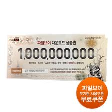 [0원샵]파일브이 다운로드 상품권 1매
